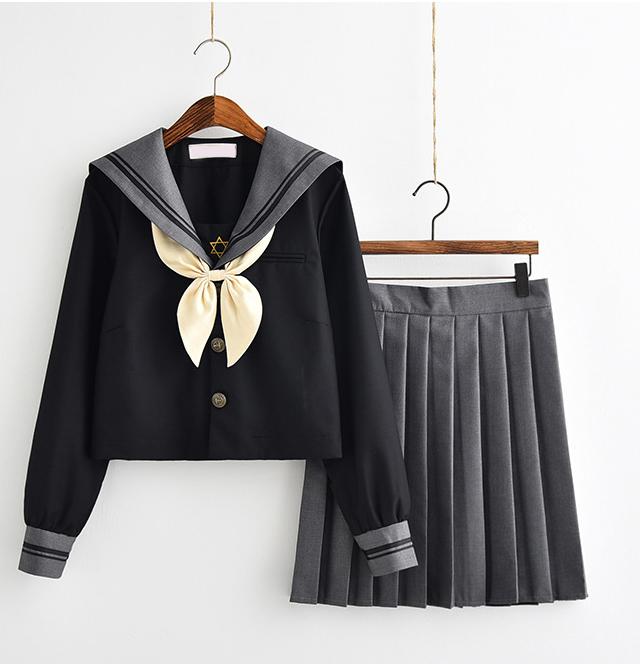 JKA002-长袖短袖款水手服